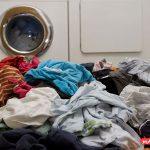 علت چروک شدن لباس در لباسشویی